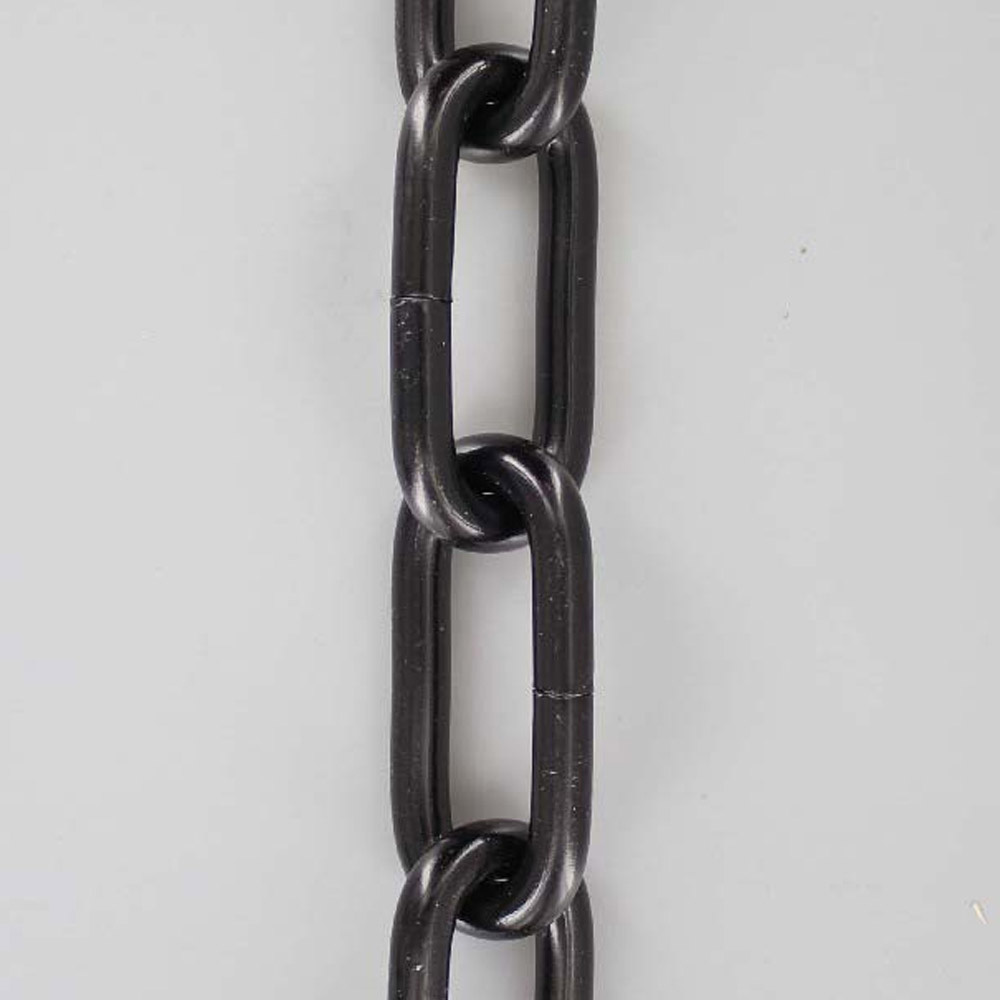 BLACK POWDERCOAT FINISH 1 GAUGE (5/16IN.) THICK STEEL CHAIN