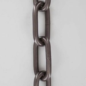 ANTIQUE BRONZE FINISH 1 GUAGE (5/16IN.) THICK STEEL CHAIN